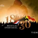 Musicalspektakel '1830' verplaatst naar zomer 2021