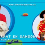 House of Entertainment voegt 'Piet Piraat en Samson & Marie Zomeroptredens' toe aan indrukwekkende line-up van pop-up concerten