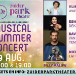MUSICAL SUMMER CONCERT IN ZUIDERPARKTHEATER DEN HAAG