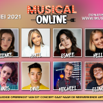 Cast en première derde Musical Online concert is bekend