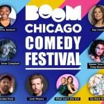 HET EERSTE BOOM CHICAGO COMEDY FESTIVAL OP DE ROZENGRACHT IS AAN 1