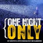 Het grootste musicalfeest vier je in Middelkerke:  'One Night Only'