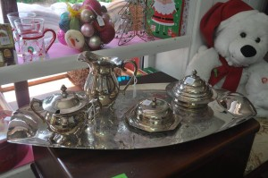 Cooroy Opshop! A lovely donation of silver ware received today. We are very thankful - these items won't last long on the shelves C/O Bloomhill Cancer Help Facebook page