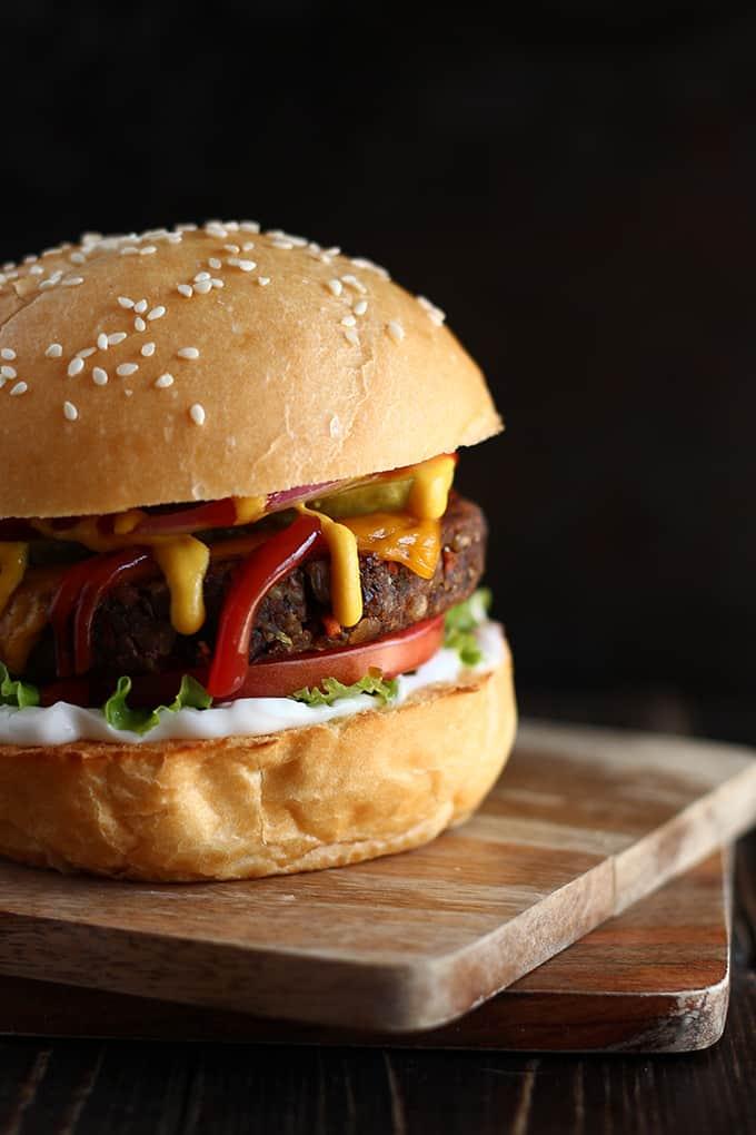 Vegan Mushroom Amp Black Bean Burgers 187 I Love Vegan