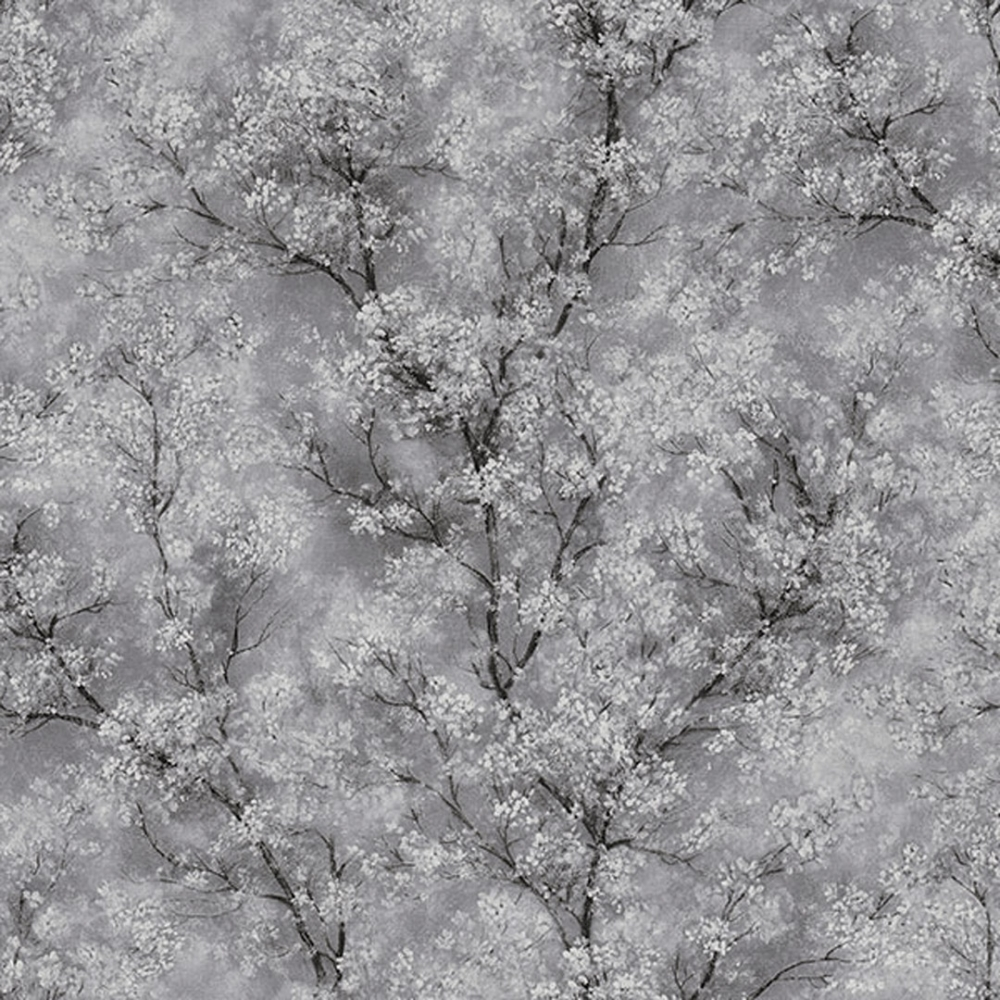 As Creation Chinoiserie Glitter Tree Wallpaper Grey Black White Wallpaper From I Love Wallpaper Uk