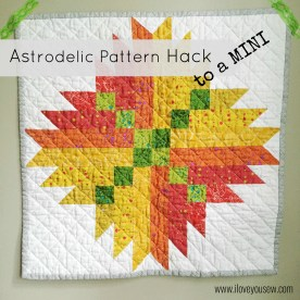 Astrodelic Quilt - Mini Tutorial