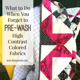 Wash High-Contrast Quilt Tutorial