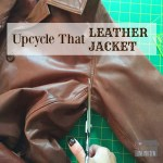 Upcycle That Leather Jacket