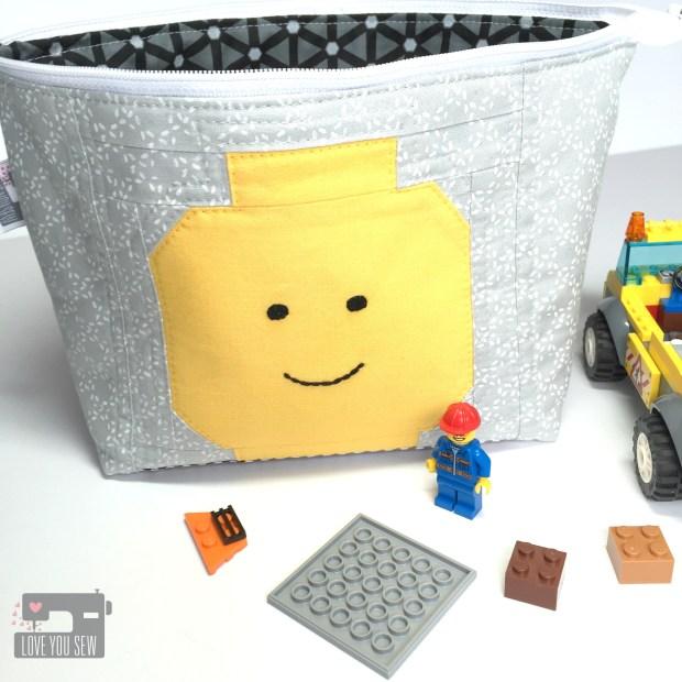 Lego Open Wide Pouch Outside