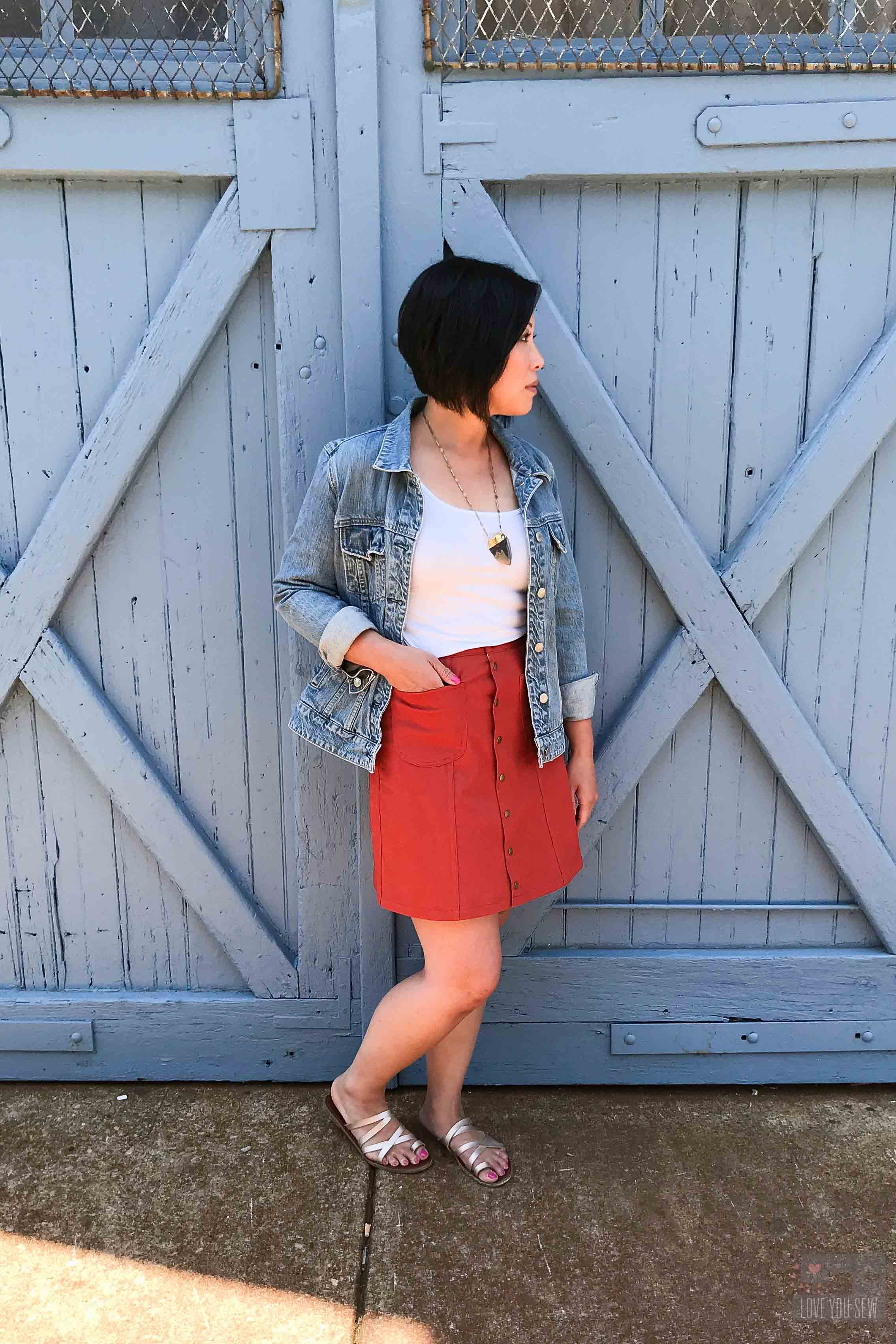 Tillery Skirt Review | Love You Sew