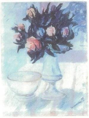 Natura-morta-e-vaso-di-fiori-_1986__1