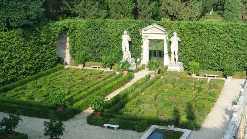 Jardins em Roma