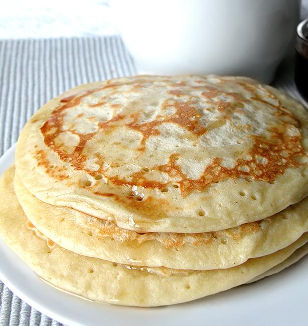 pancakes ricetta