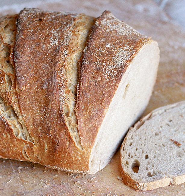 pane con la pasta madre ricetta facile