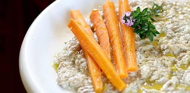 Semi di girasole risottati con carotine e timo