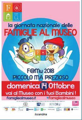 - Giornata nazionale delle famiglie al museo