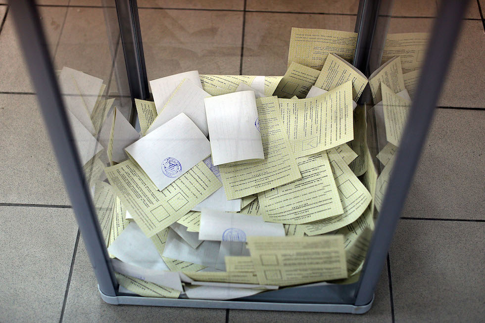 Crimea Goes To The Polls In Crucial Referendum