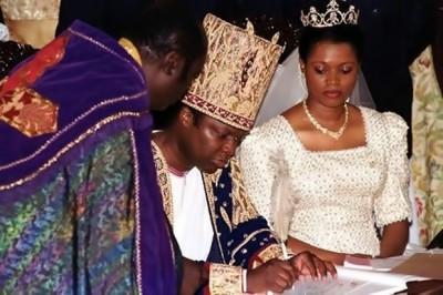 Ronald Muwenda Mutebi II e Sylvia Nagginda