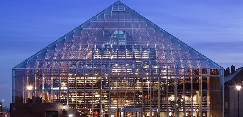 de Boekenberg, Bibliotheek, Spijkenisse, MVRDV architecten