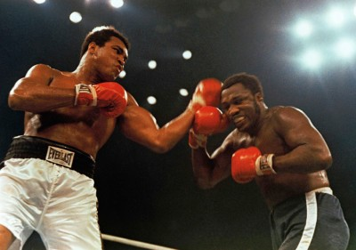 Se c'è anche solo una vaghissima ragione di infilare foto di Muhammad Ali in un articolo, io ne approfitto, scusate.