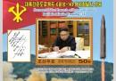 La Corea del Nord ha fatto dei francobolli per ricordare il lancio di un missile