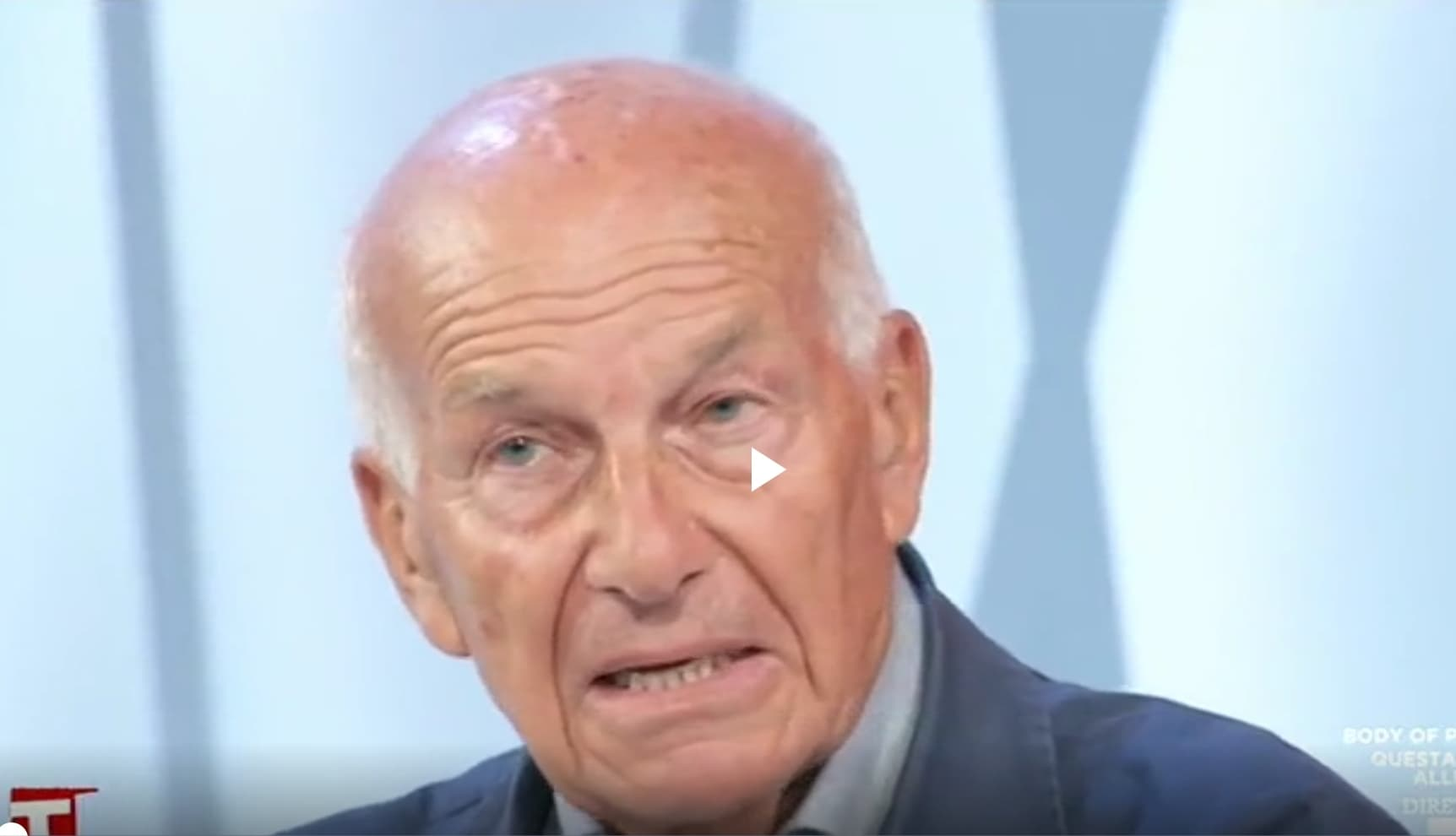 "Bertinotti accusa Salvini : ""È un surfista senza onda"" (Video)"