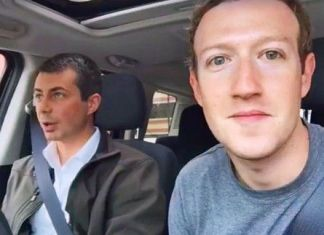 Zuckerberg e Buttigieg