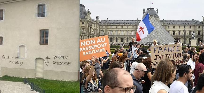 """Francia, boom di Green pass """"finti"""" venduti per 300 euro. Vandalizzati 2 hub vaccinali"""