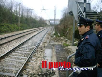 Corpo sulle rotaie del Cassino Roma, si ipotizza suicidio di 50enne. Traffico in tilt