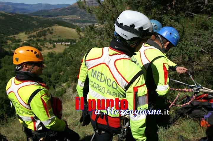 Due 19enni dispersi sui monti Ernici a Veroli, raggiunti Cnsas