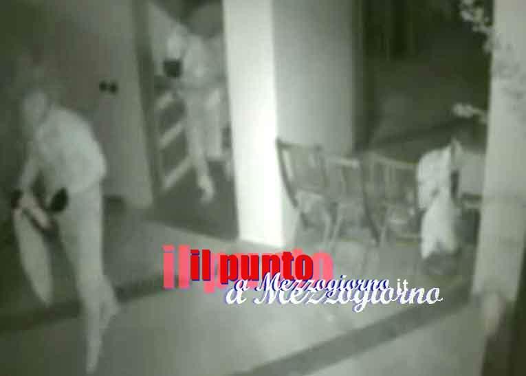 Maxi furto a casa di professionisti a Cassino, ladri nella palazzina in cui abitano Salera, Ciamarra e Fella