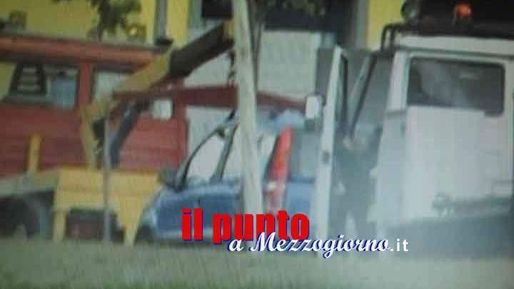 Banda del carroattrezzi, sradicano il bancomat alla Bpc di Ceprano ma lo perdono per strada