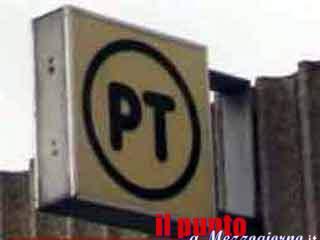 Assaltato l'ufficio postale di Vallecorsa a mano armata… di stampella