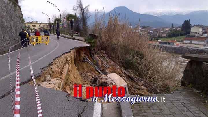 Frana di via Lungoliri a Pontecorvo, nominato il presidente dalla commissione aggiudicatrice