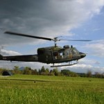 Elicottero AB-212 del IX Stormo in addestramento