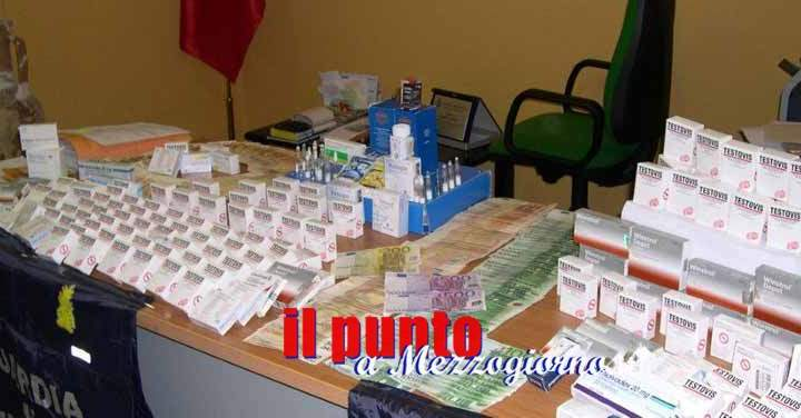 Body builder, sequestrate sostanze dopanti e farmaci. Sei persone denunciate