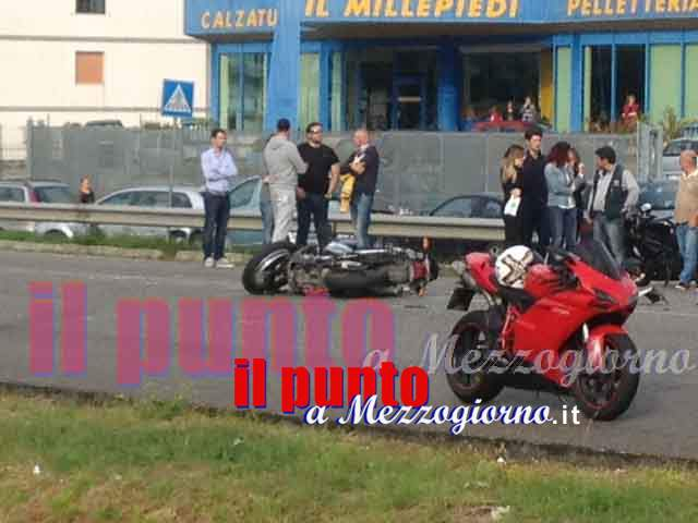 incidente moto pignataro