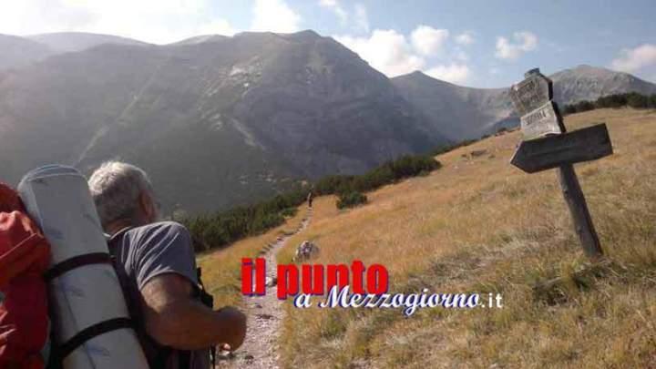 Maratoneta di Ferentino colta da malore sui monti della Meta, recuperata dal Soccorso Alpino