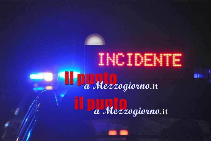 Incidente stradale a Ceccano, tre giovani feriti: uno è grave