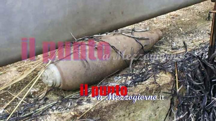 Tenta di aprire residuati bellici, meccanico di Castro dei Volsci ferito da esplosione