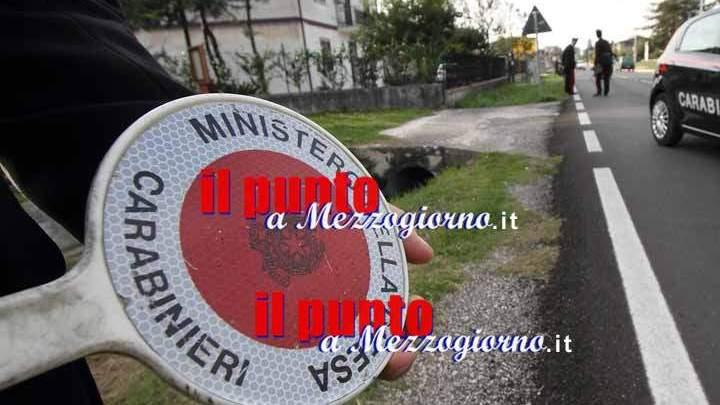 Carabiniere ferito ad Alatri, investito mentre fa rilievi ad incidente