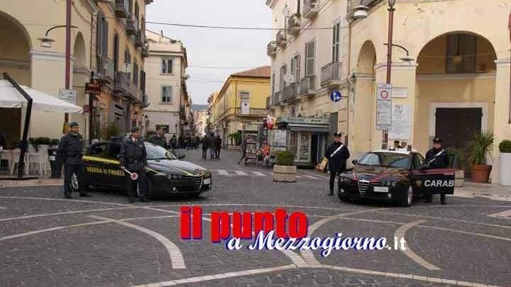 """Fiuggi; operazione """"Sinergy"""" di carabinieri e guardia di finanza contro il traffico di droga. Dieci arresti"""