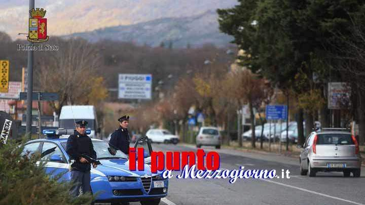 "Targa ""ballerina"" al motorino, due giovani denunciati a Cassino"
