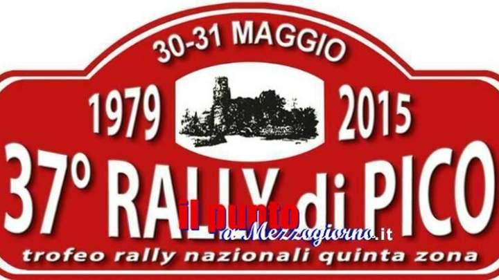 Rally di Pico per la prima volta in diretta web