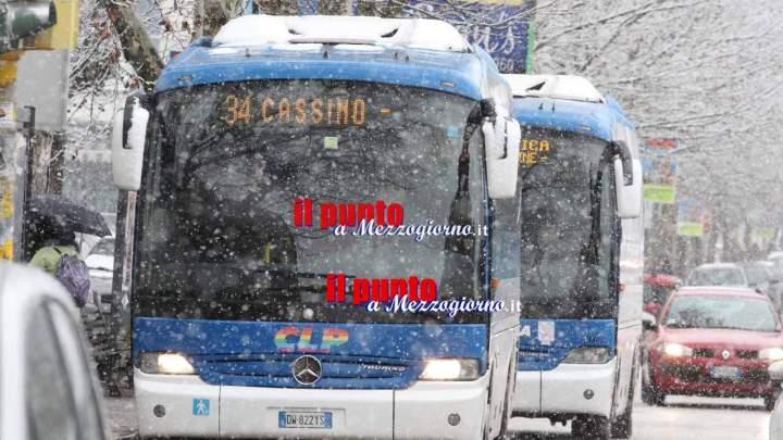 Grande freddo, scuole chiuse a Frosinone. Disaster manager: non temiamo neve ma il ghiaccio
