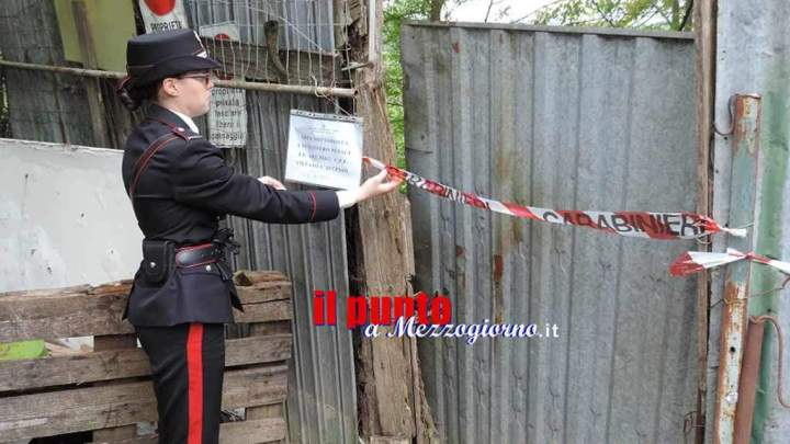 Gestivano rifiuti speciali senza autorizzazione, famiglia denunciata a Sant'Ambrogio sul Garigliano