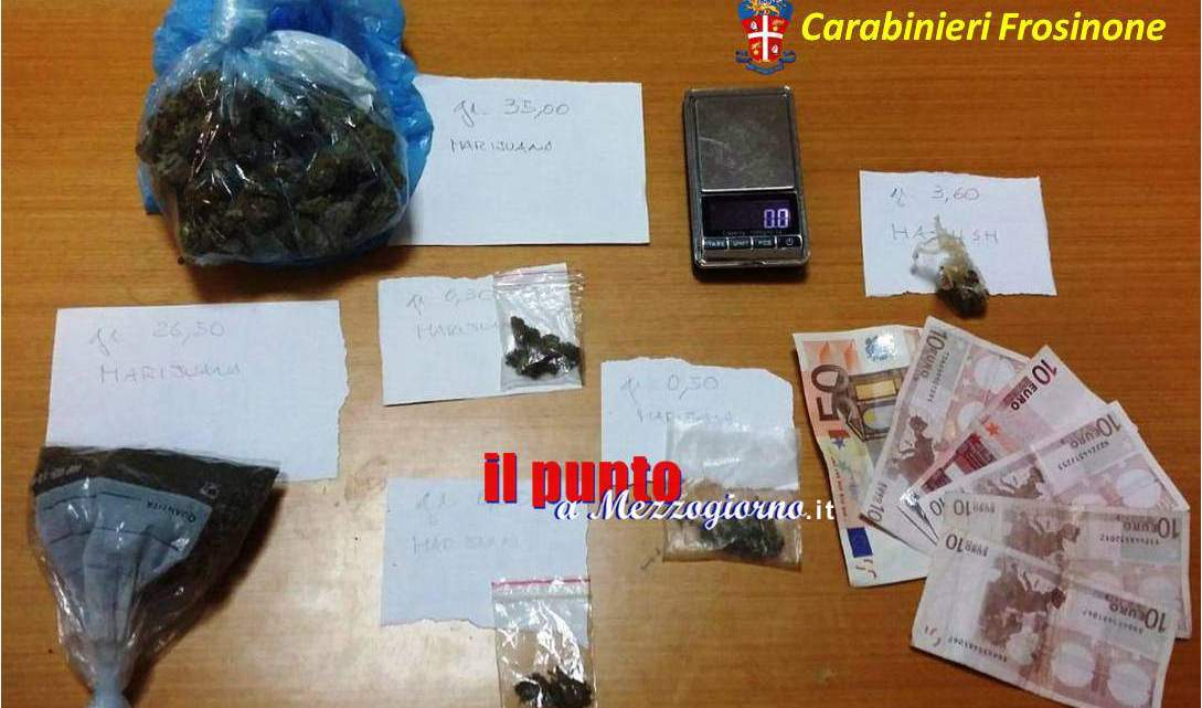 Scoperto dai carabinieri con la marijuna in casa, 27enne ai domiciliari