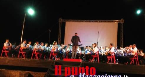 """La """"Banda Don Bosco"""" incanta il pubblico del Teatro Romano con """"C'era una volta il cinema"""""""