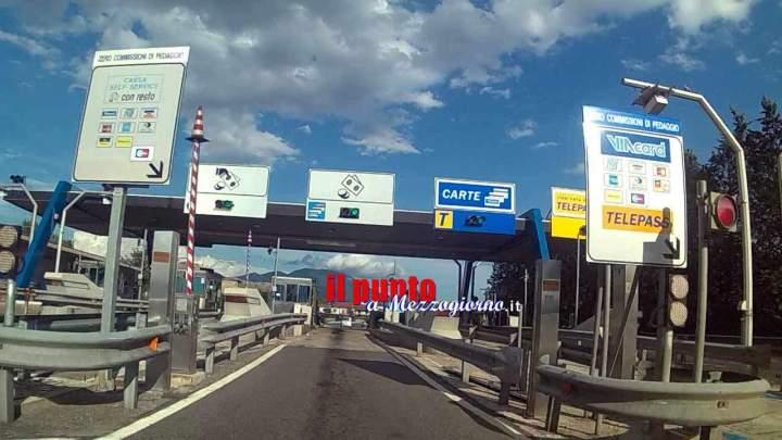 A1, da stanotte fino a domani mattina chiusa la stazione Pontecorvo- Castrocielo per lavori di manutenzione