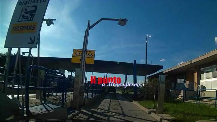 Cassino, causa manutenzione: casello autostradale chiuso per tre ore